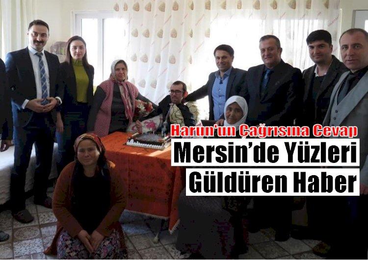 Mersin'de Güzel Haber, Sosyal Medyadan Yapılan Çağrıya Duyarsız Kalmadılar
