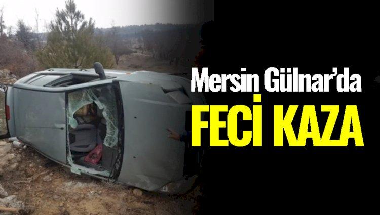 Mersin'in Gülnar İlçesinde Kaza; Yaralılar Var...