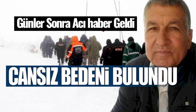 Günlerdir Aranan Mersinli Ali Kaçar'ın Cenazesine Ulaşıldı