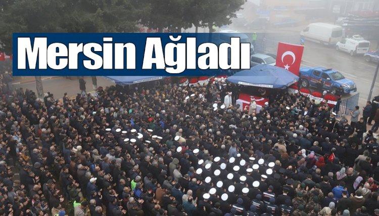 Mersin Şehidini Uğurladı, Binler Gülnar'a Aktı...