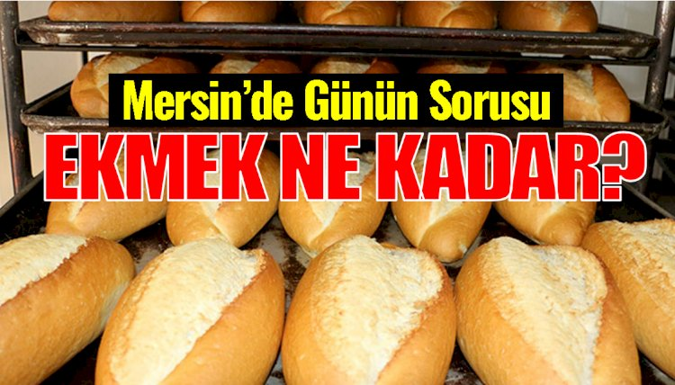 Mersin'de Ekmek Fiyatlarındaki Farklılık Tepkilere Neden Oluyor