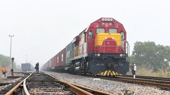 Urumçi Mersin Seferini Yapan Tren Çin'den Yola Çıktı
