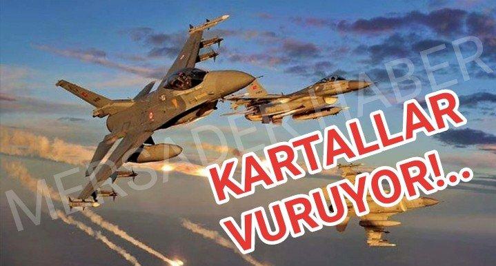 Milli Savunma Bakanlığı: Pençe-Kartal Operasyonu başladı