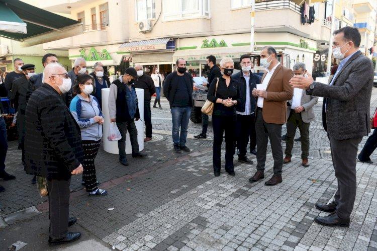 """Başkan Özyiğit, """"Alanya Sokağı ile Kushimoto Sokağı'nı birleştirmek istiyoruz"""""""
