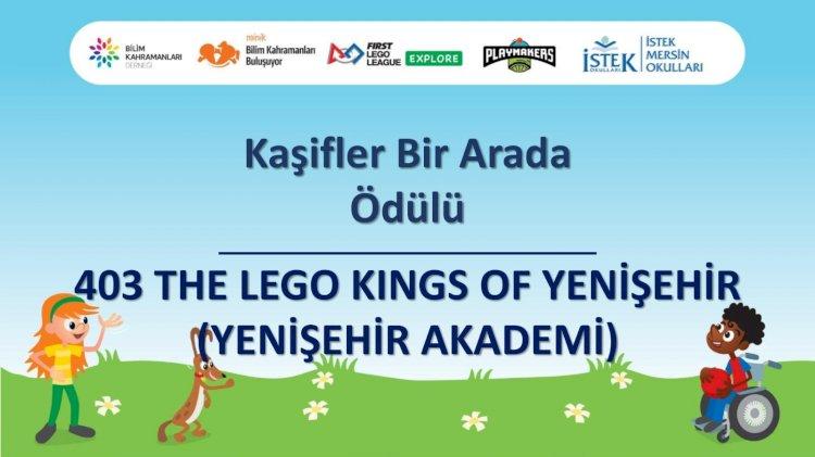 Yenişehir Belediyesi robotik kodlama takımından büyük başarı